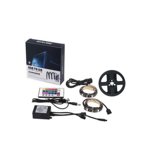 USB TV Led Backlight LED Strip DC 5V 5050 RGB Light Lamp Desk Decor Screen Led Lights for TV