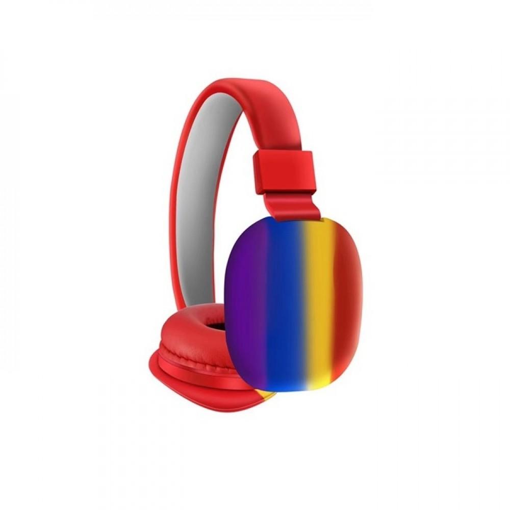 Ασύρματα ακουστικά - Headphones - AH-806B - Red - 888067
