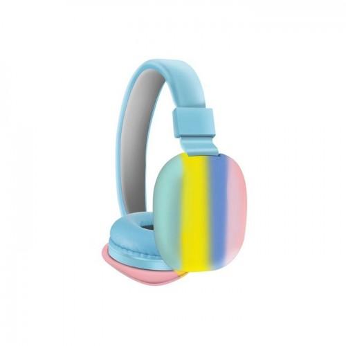 Ασύρματα ακουστικά - AH-806B - Blue - 888067_bl
