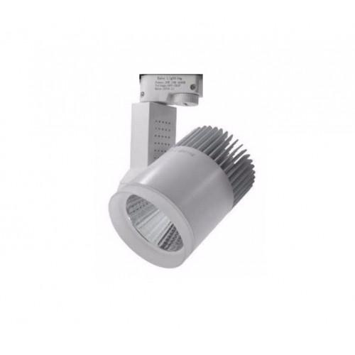 Προβολέας LED τροχιάς για ράγα φωτισμού - 30W - 4000K - 040321