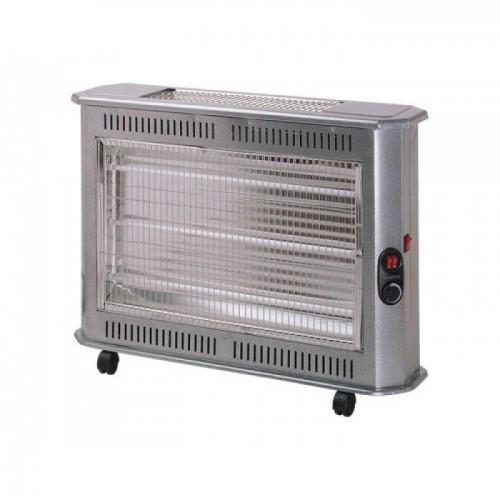Ηλεκτρική θερμάστρα χαλαζία - KS-2710 - Kumtel - Silver