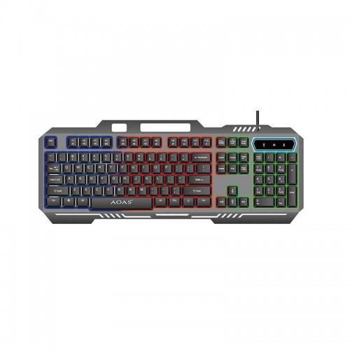 Ενσύρματο πληκτρολόγιο - LED-RGB - AOAS-888 - 658885